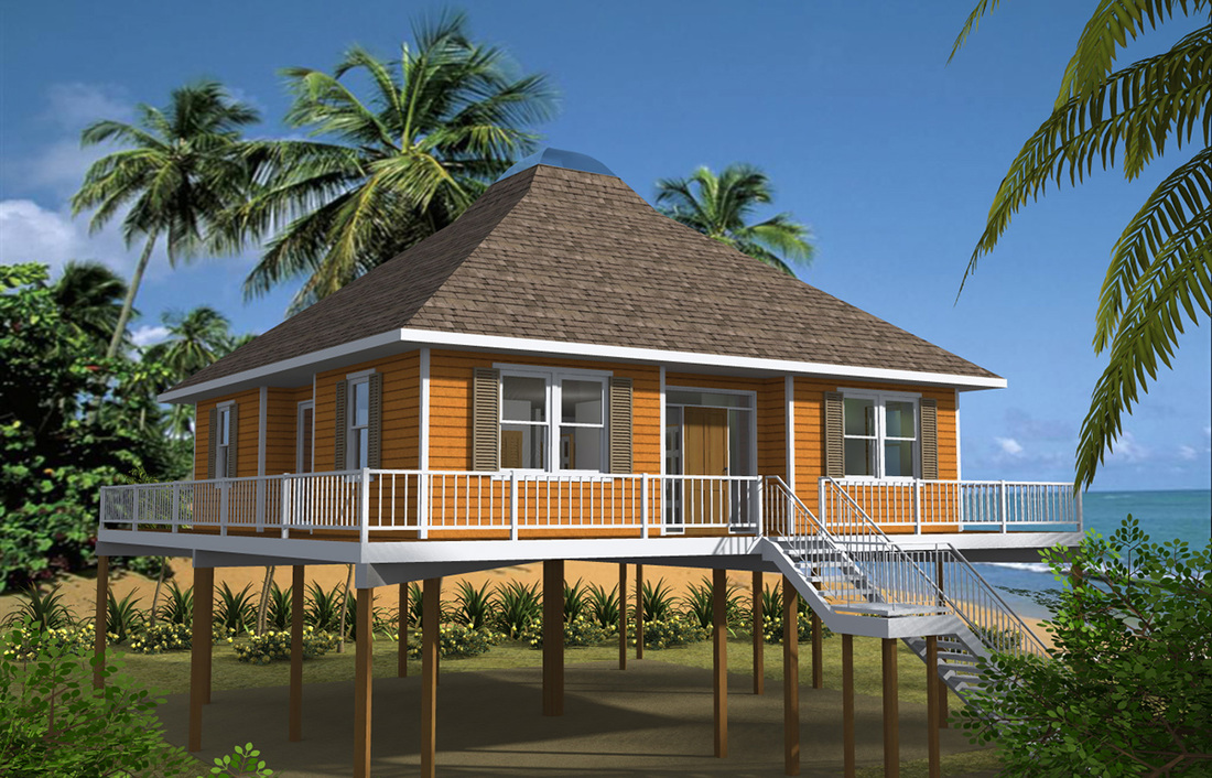 Beauteous 30 Beach House Plans On Pilings Inspiration Of